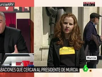María Belén Fernández, portavoz de la Plataforma Anticorrupción de Murcia