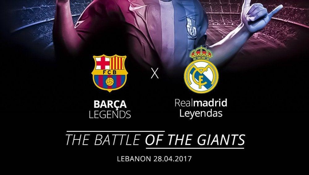 El Clásico entre leyendas de Real Madrid y Barcelona, anunciado por Ronaldinho