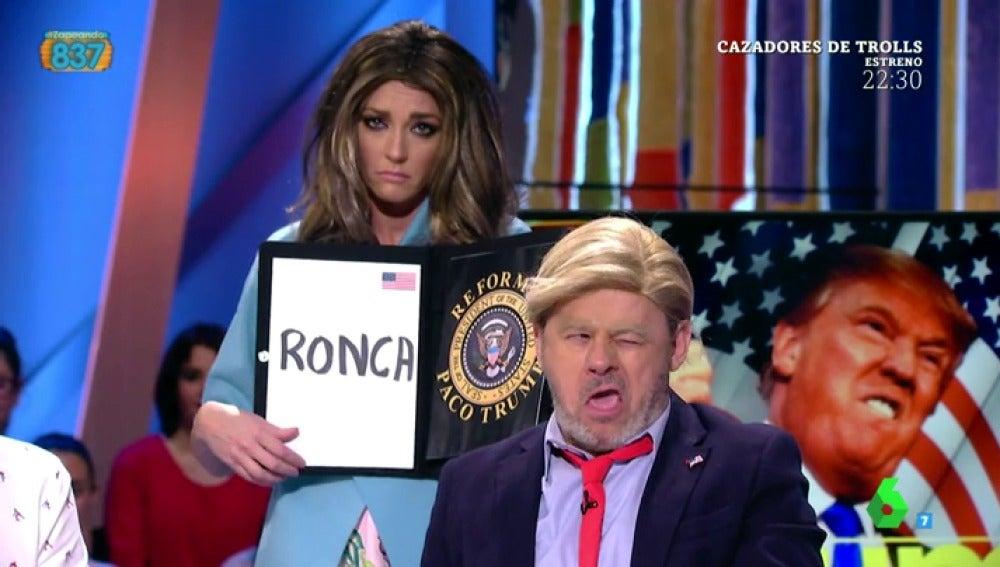 Paco Trump en Zapeando