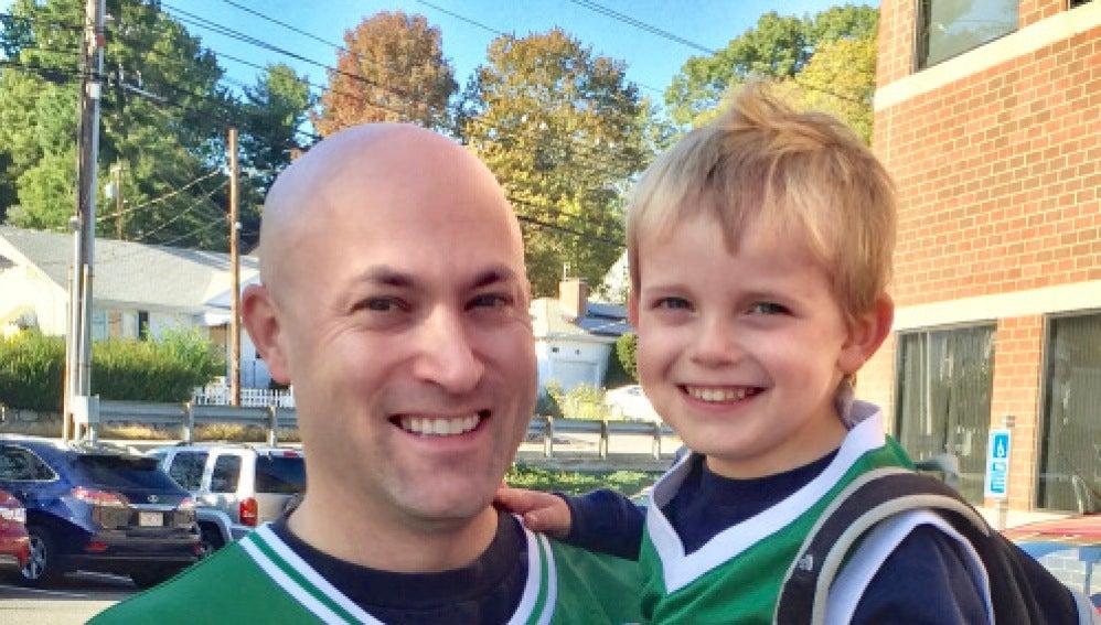 Mike y su hijo