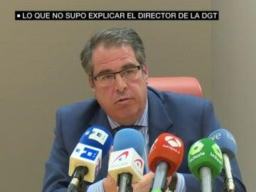 El director de la DGT en rueda de prensa