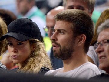 Piqué y Shakira en un evento