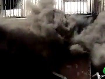 Frame 18.430476 de: Continua ingresada la dueña de una carnicería de Granada tras una explosión de gas