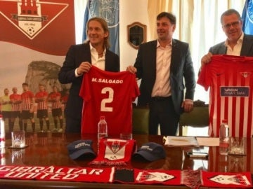 Míchel Salgado, nuevo técnico del Gibraltar United