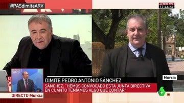 Francisco Camino, exdecano del Colegio de Arquitectos de Murcia