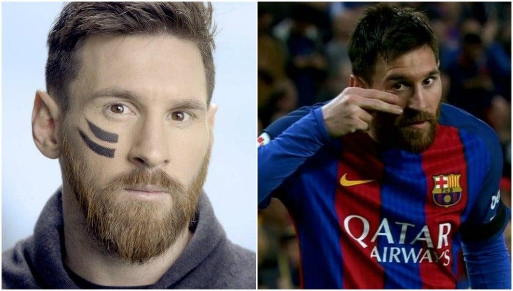 La dedicatoria de Messi en su gol a los niños con cáncer