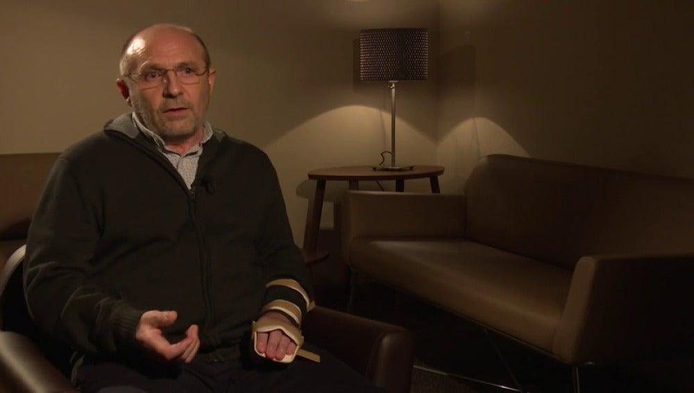 """Frame 355.548555 de: La última entrevista de José Antonio Arrabal en laSexta Noche, enfermo de ELA que se ha suicidado en un vídeo: """"Para vivir con un sufrimiento inaceptable prefiero morir"""""""