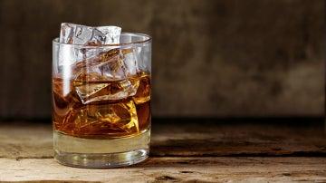 Una copa de whisky