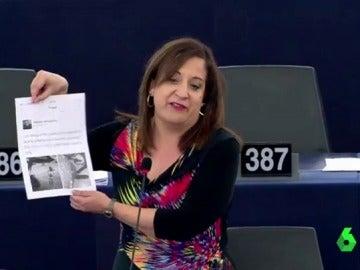 La socialista que se enfrentó al eurodiputado polaco machista, Iratxe García