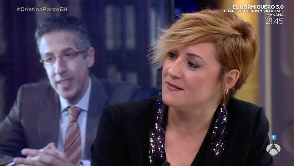 Cristina Pardo visita El Hormiguero