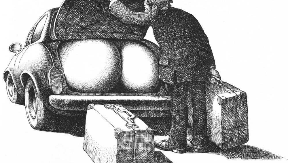 Dibujo de Roland Topor