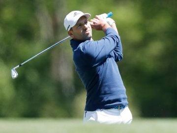 Sergio García en el Masters de Augusta
