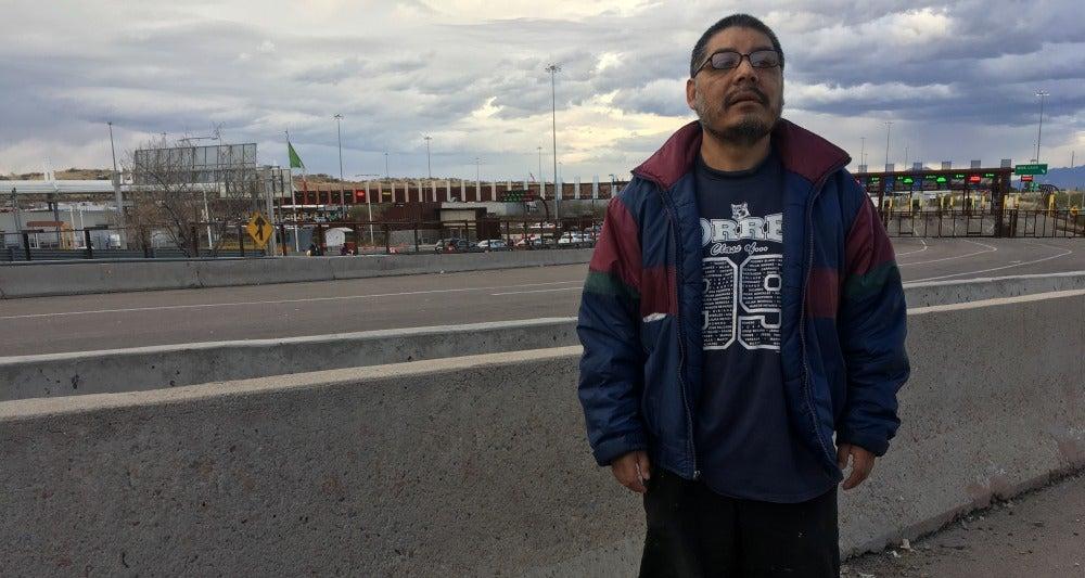 Noé, un deportado por las políticas de Trump