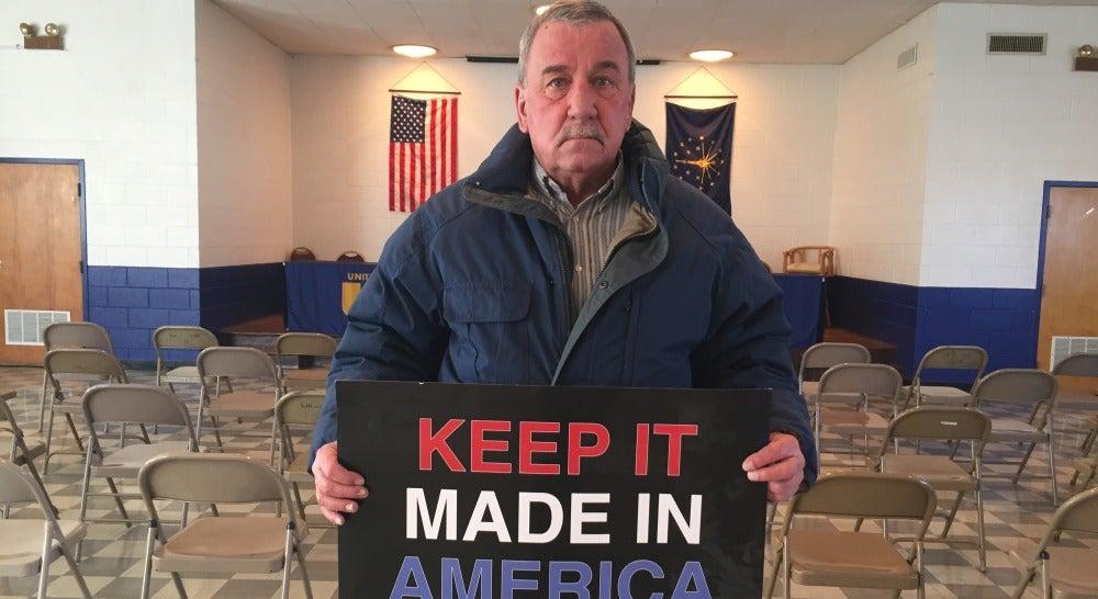 Chuck Jones, líder del sindicato mayoritario de la empresa Carrier