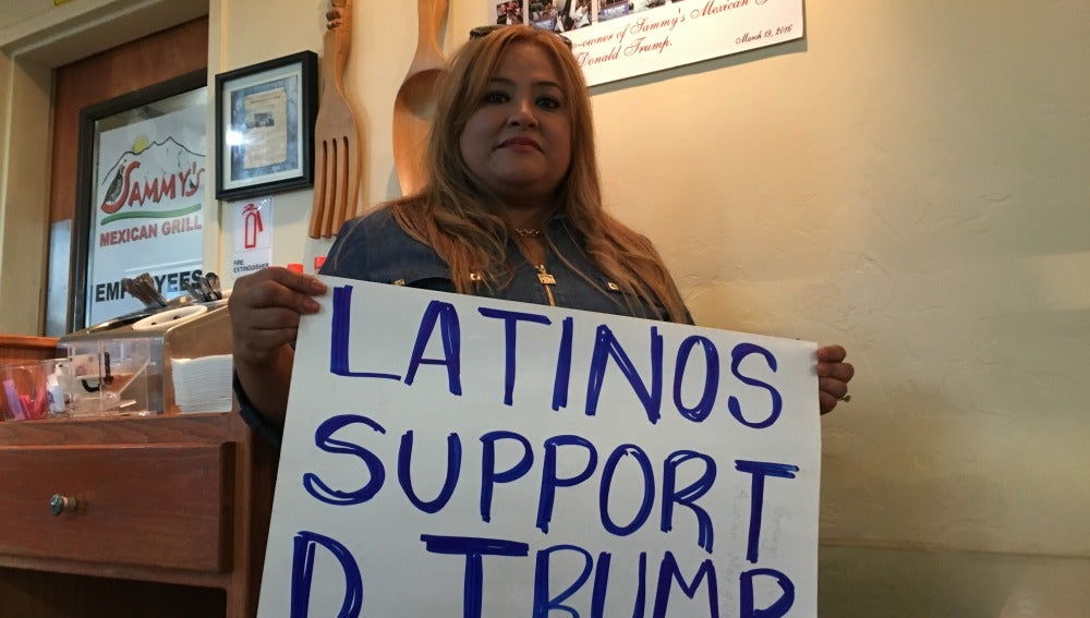 Betty Rivas, icono del voto latino pro Trump