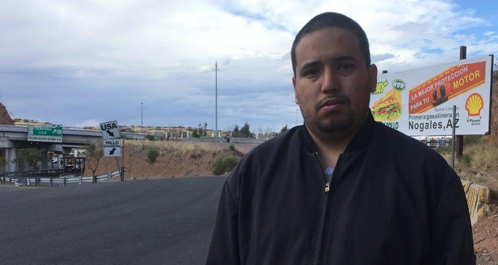 René, ciudadano deportado de EEUU