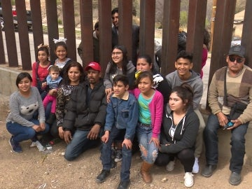Muro entre EEUU y México