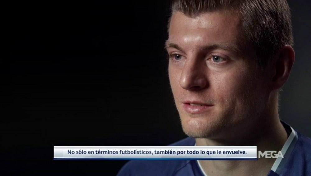 """Frame 77.653333 de: Kroos vuelve a Múnich: """"Mi etapa en el Bayern fue muy especial, será una eliminatoria fantástica"""""""