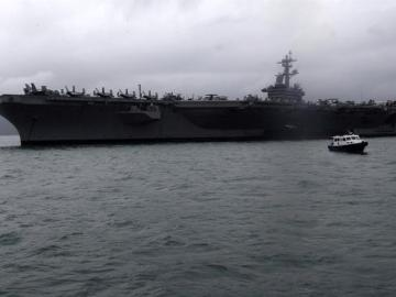 Portaaviones estadounidense