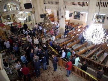 Al menos 25 muertos en un atentado contra una Iglesia al norte de El Cairo