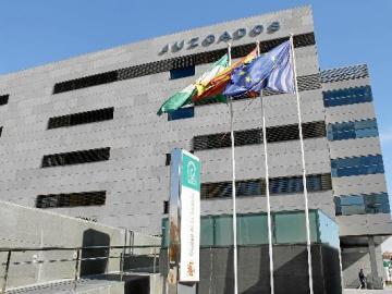 Imagen de archivo de los juzgados de Almería.