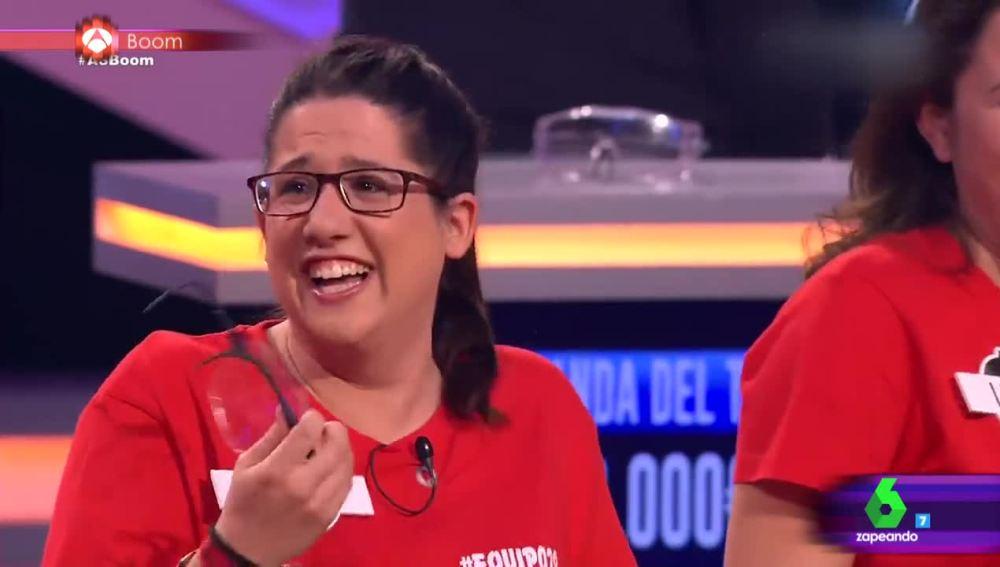 La concursante con la risa más contagiosa de '¡Boom!'