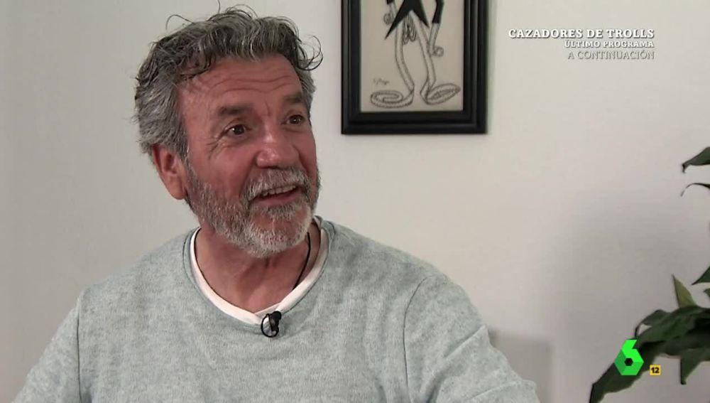 Alejandro Bayo, enfermo de ELA