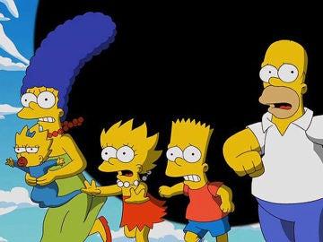 Miembros de la familia Simpson, creada por Matt Groening