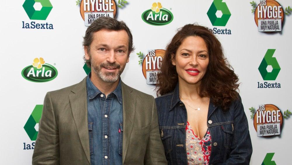 Patricia Pérez y su marido, Luis Canut