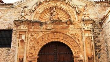 Fachada Iglesia de Corral de Almaguer