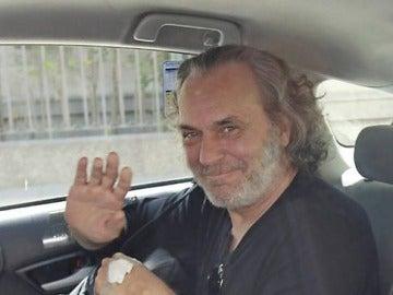 El actor José Coronado tras recibir el alta médica