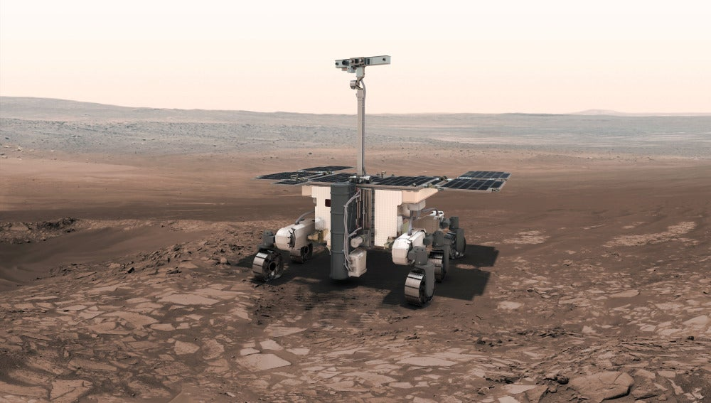 El rover ExoMars de las agencias espaciales europea y rusa nos ayudarán a encontrar antiguas formas de vida en Marte