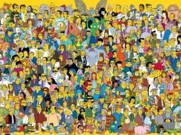 Personajes en Los Simpson