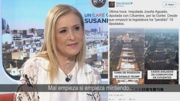 Cristina Cifuentes en Espejo Público