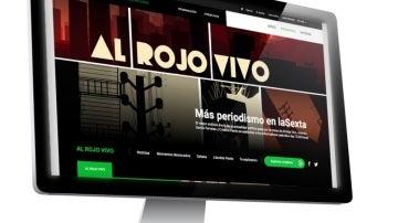 Imagen de la página web de Al Rojo Vivo