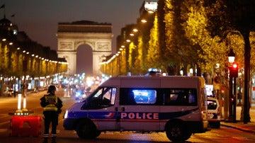La policía acordona la zona