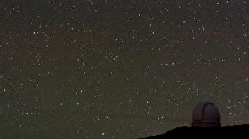 El estudio se llevó a cabo en el observatorio de La Palma. / Otger!