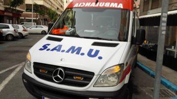 Una ambulancia del Servicio de Atención Médico Urgente.