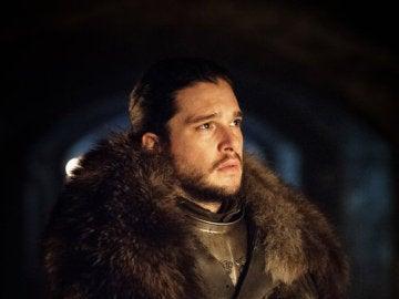 Jon Snow (Kit Harington) en la séptima temporada de 'Juego de Tronos'