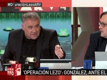 Antonio García Ferreras y Francisco Marhuenda