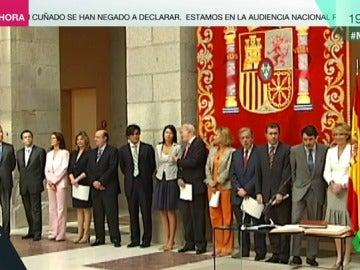 El Gobierno de Aguirre en 2007