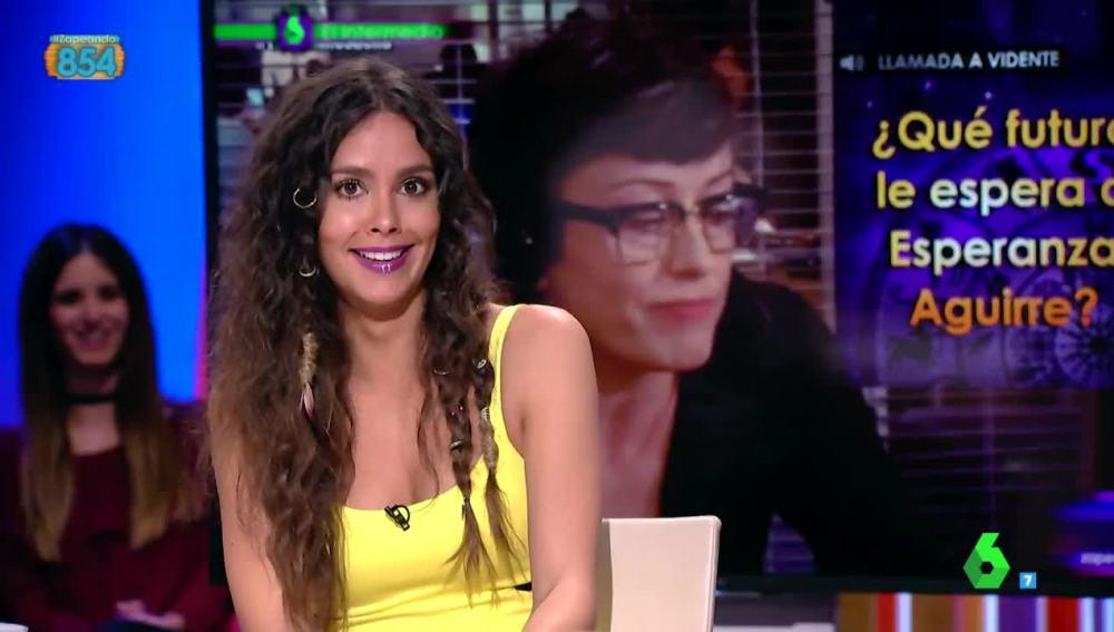 El 'zasca' de Cristina Pedroche a Aguirre