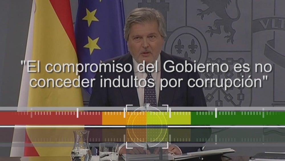 El portavoz del Gobierno, Iñigo Méndez de Vigo