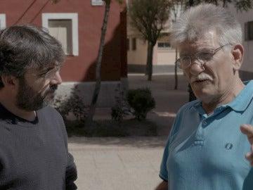 Miguel Montes Neiro charla con Jordi Évole en Salvados