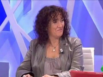 Libertad Martínez, exdiputada de Izquierda Unida en la Asamblea de Madrid
