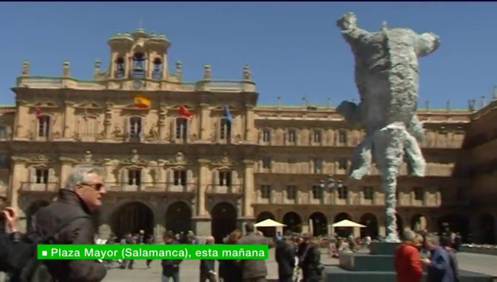 Las obras de Miquel Barceló engalanan Salamanca