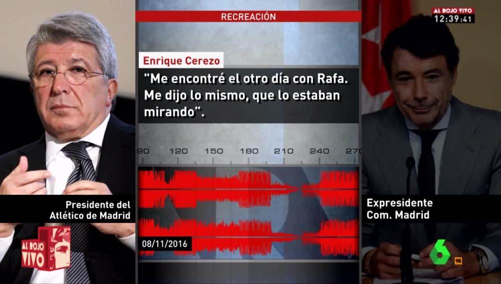 Conversación de Cerezo con González