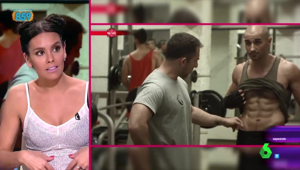 Cristina Pedroche analiza el entrenamiento de Alain Hernández