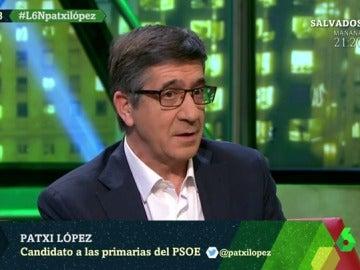 Patxi López en laSexta Noche