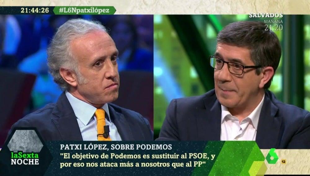 Eduardo Inda y Patxi López